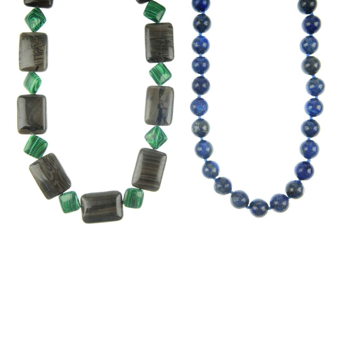 A selection of gem jewellery. To include a multi-gem