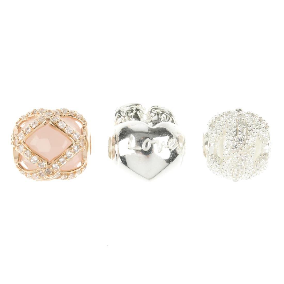 THOMAS SABO - thirty charms. To include a rose quartz