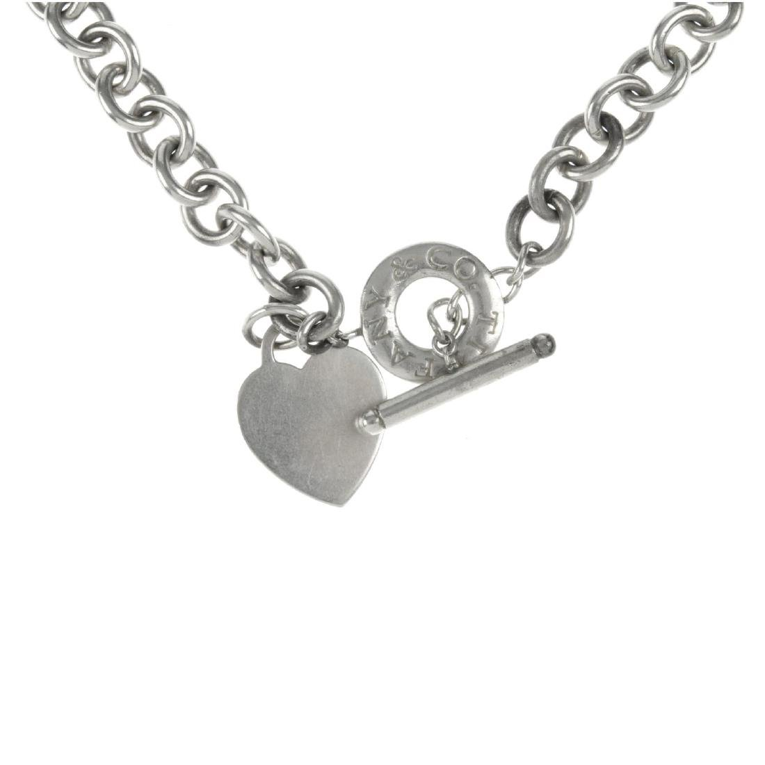 TIFFANY & CO. - a necklace. The belcher-link chain