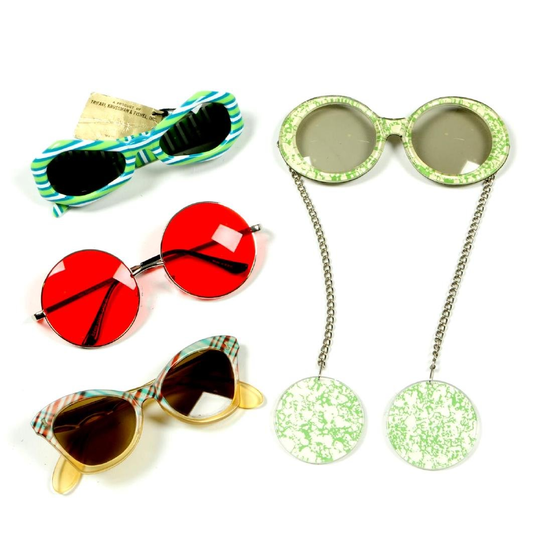 A selection of vintage sunglasses. To include a pair of
