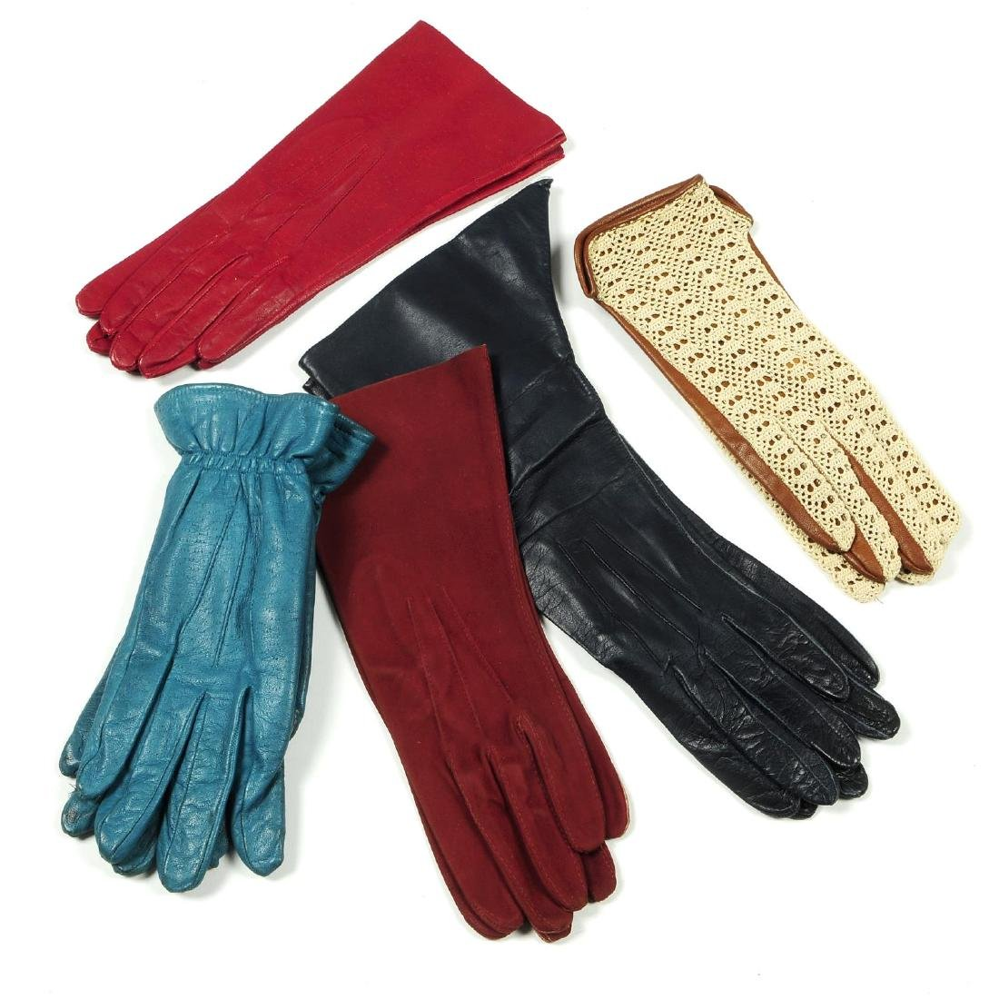 A selection of vintage gloves. To include twenty pairs