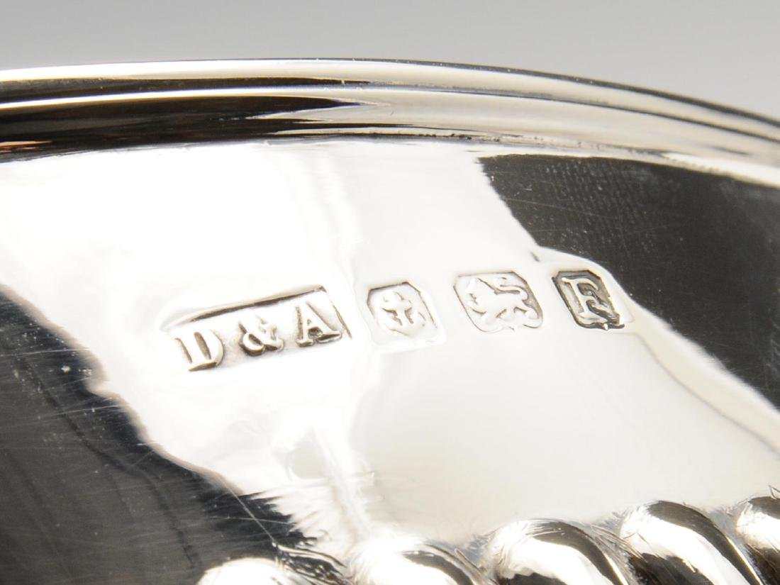 A matched early twentieth century three piece silver - 3