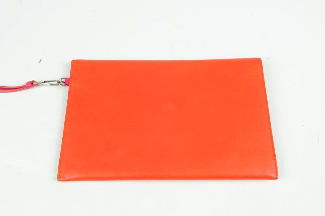 CHRISTIAN DIOR - a leather envelope clutch. Crafted - 2