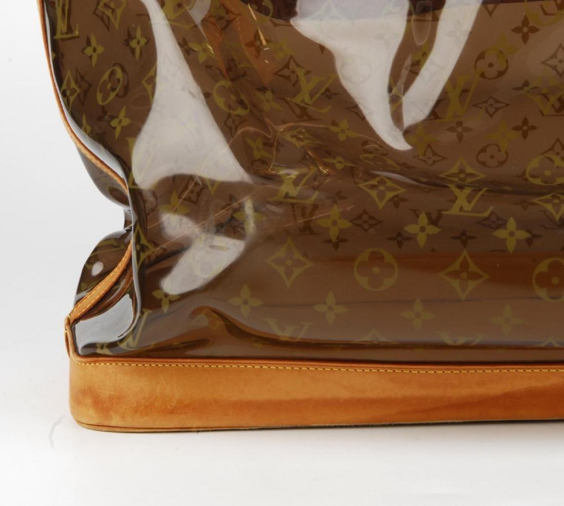 LOUIS VUITTON - a Sac Ambre Monogram Vinyl GM handbag. - 3