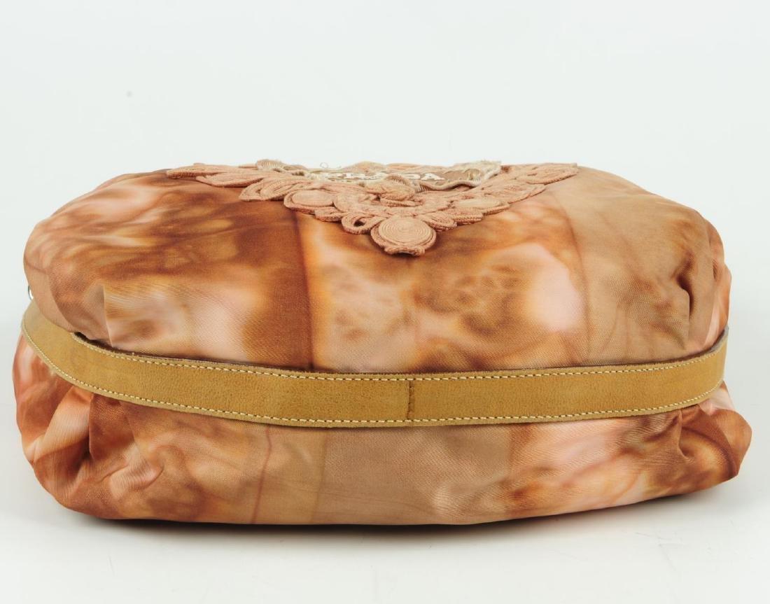 PRADA - a pink Tessuto Tie-Dye hobo handbag. Featuring - 4