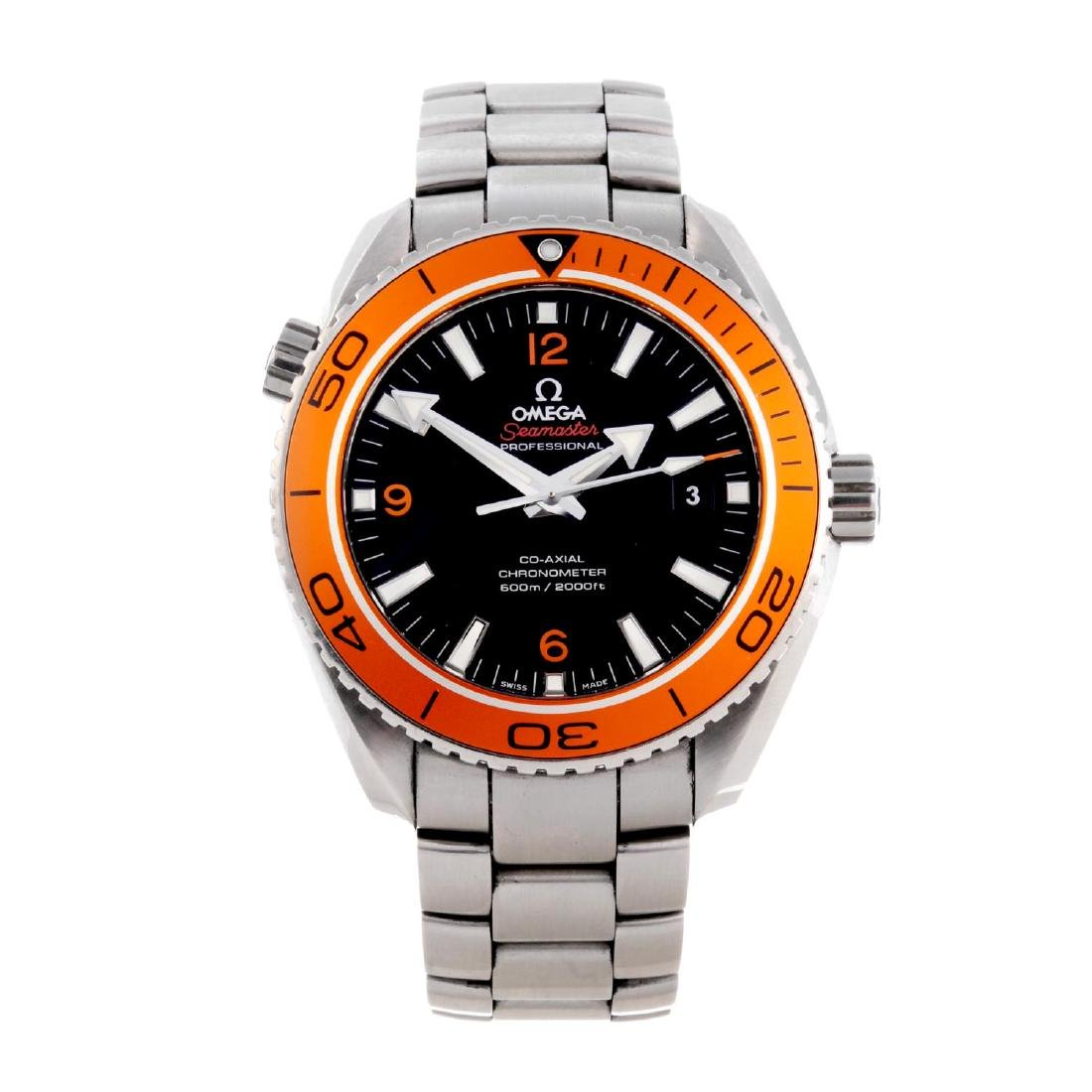OMEGA - a gentleman's Seamaster Professional Planet