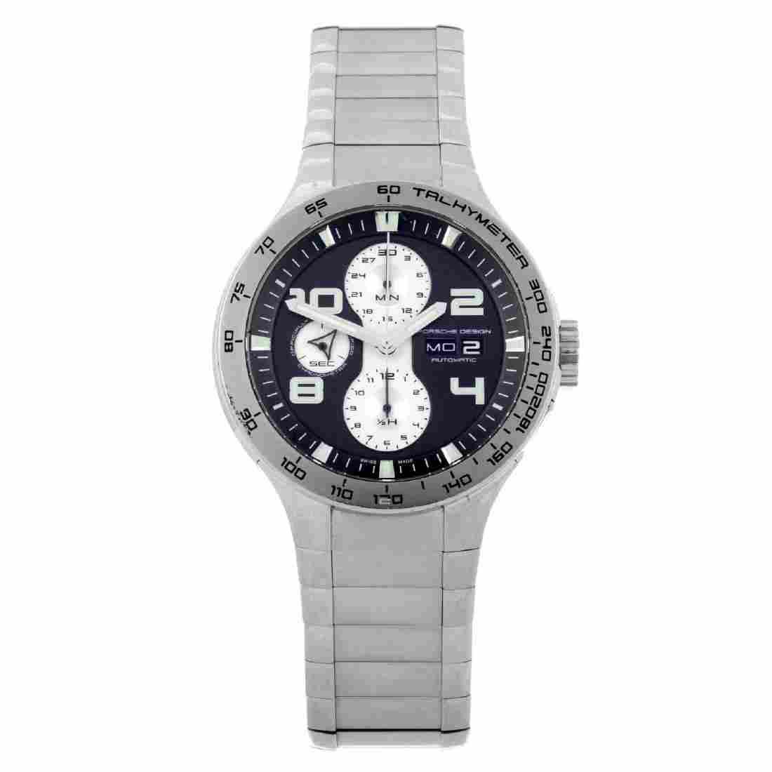 PORSCHE DESIGN - a gentleman's Flat Six chronograph