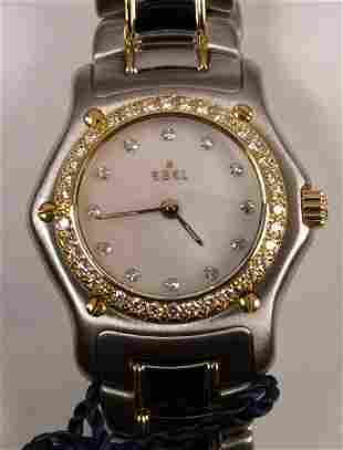 EBEL - a ladies Beluga stainless steel and gold q