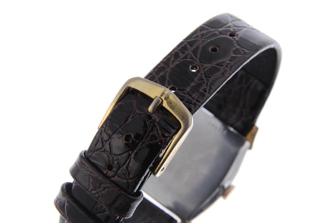BULOVA - a gentleman's wrist watch. Gold plated case - 2