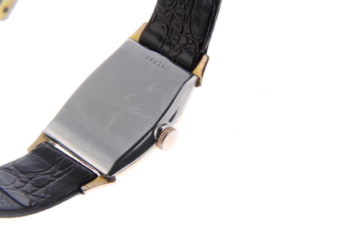 BULOVA - a gentleman's wrist watch. Gold plated case - 3