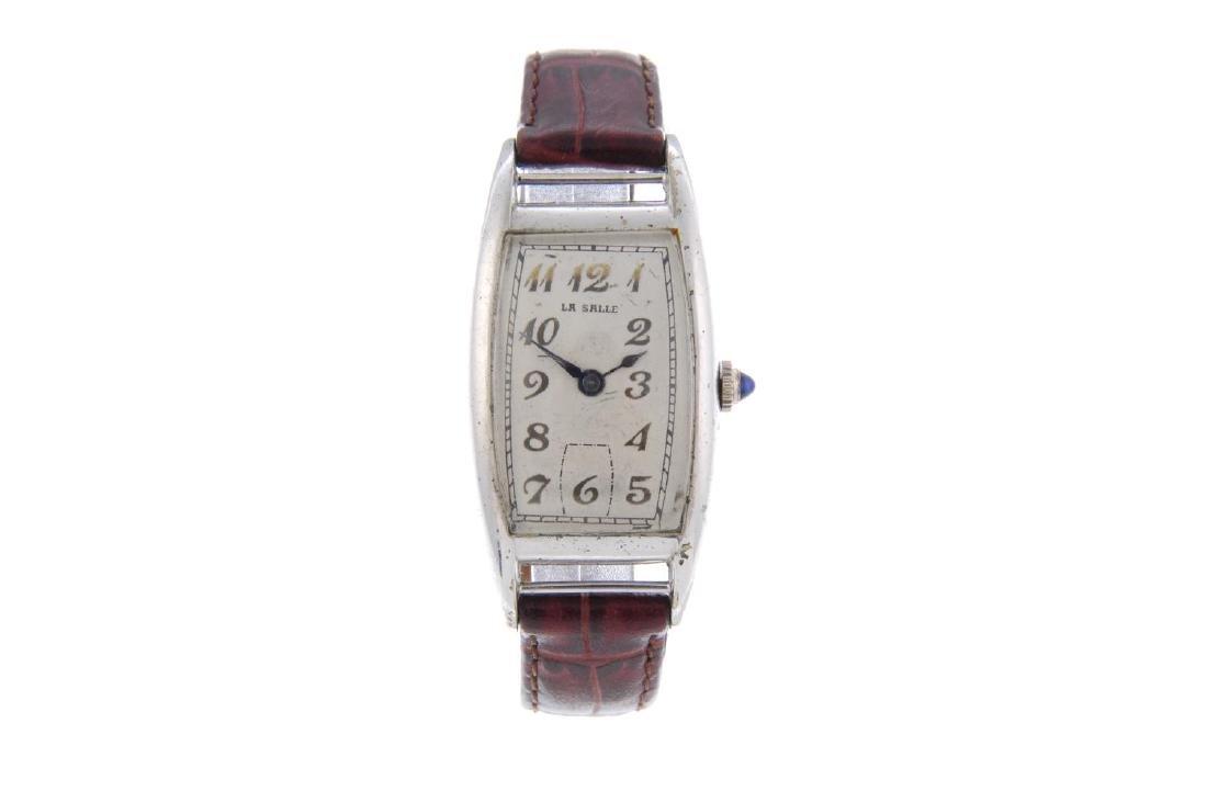 BULOVA - a gentleman's wrist watch. Gold plated case - 5
