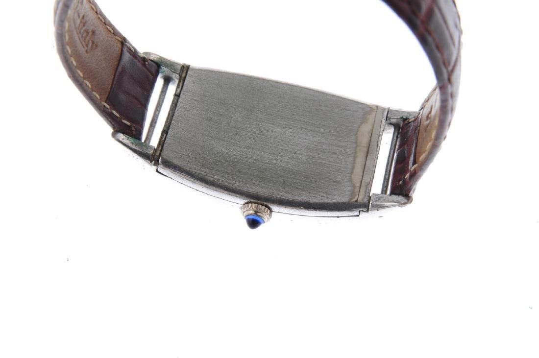 BULOVA - a gentleman's wrist watch. Gold plated case - 6