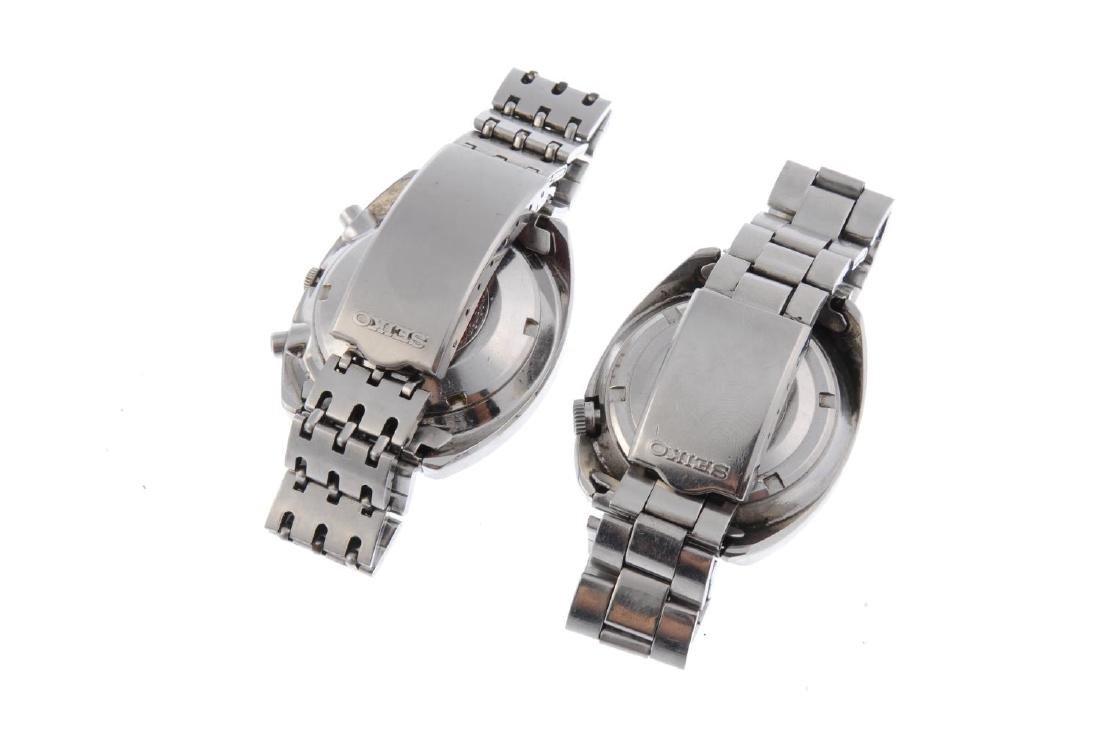 SEIKO - a gentleman's chronograph bracelet watch. - 6