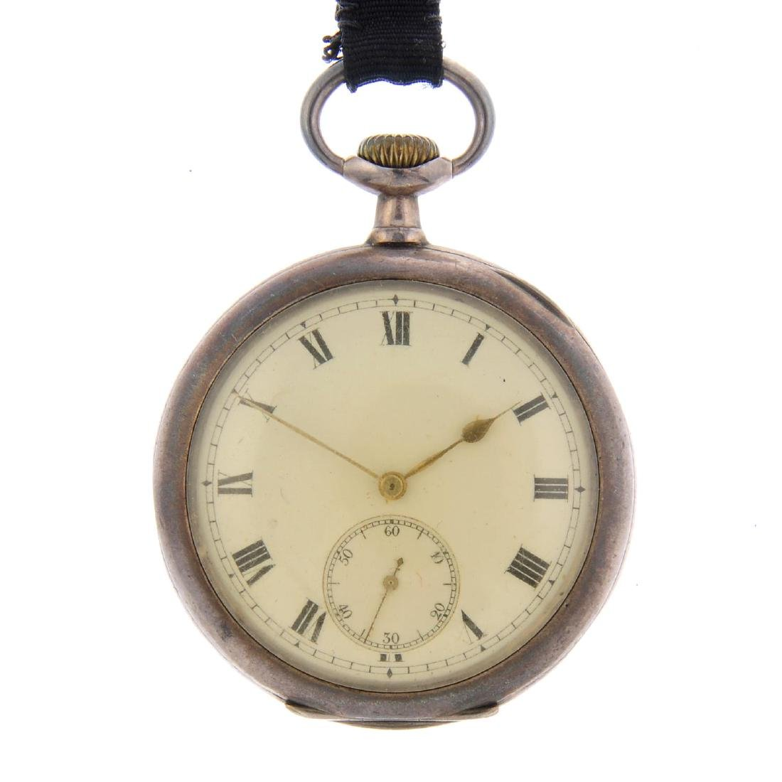 A group of four assorted watches and pocket watches, to