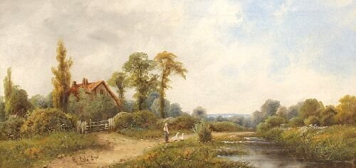 2: E. COLE (SNR.) (British, 19th Century) Rur