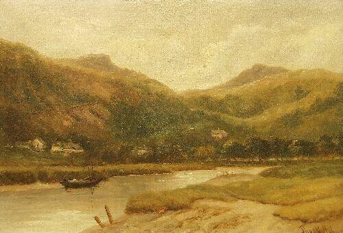 "6: THOMAS M. ASH (British, fl 1883-1891)  ""Ar"