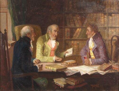 13: GEORGE FOX (British, 19th Century) 'Point