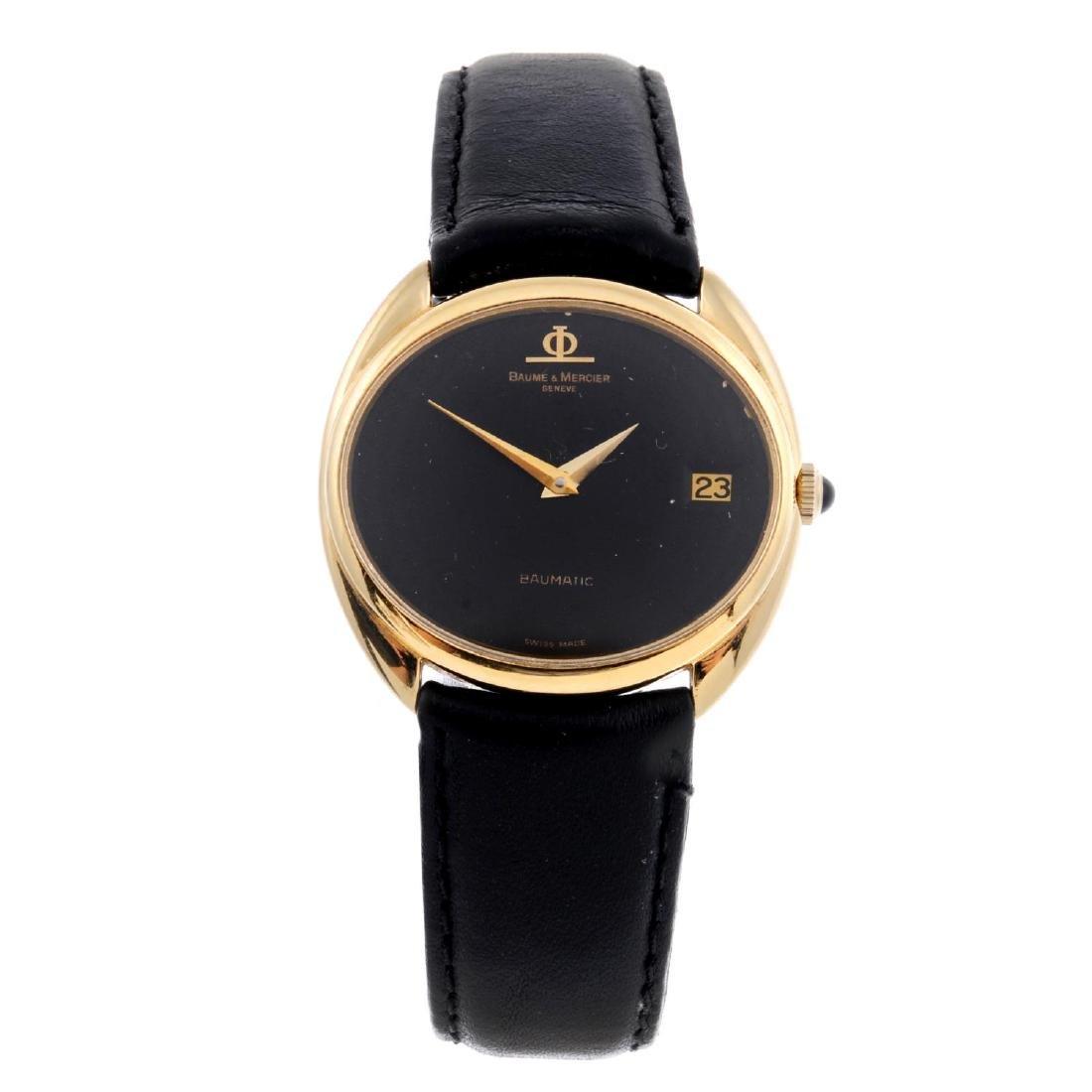 BAUME & MERCIER - a gentleman's Baumatic wrist watch.
