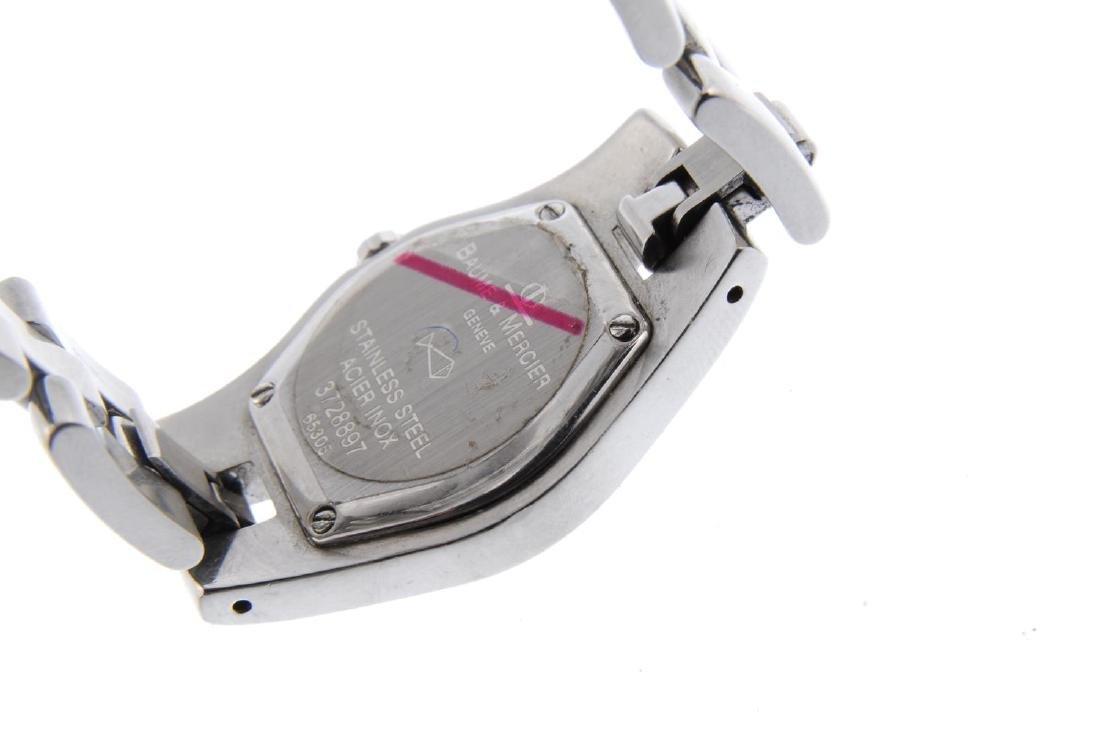 BAUME & MERCIER - a lady's Linea bracelet watch. - 3