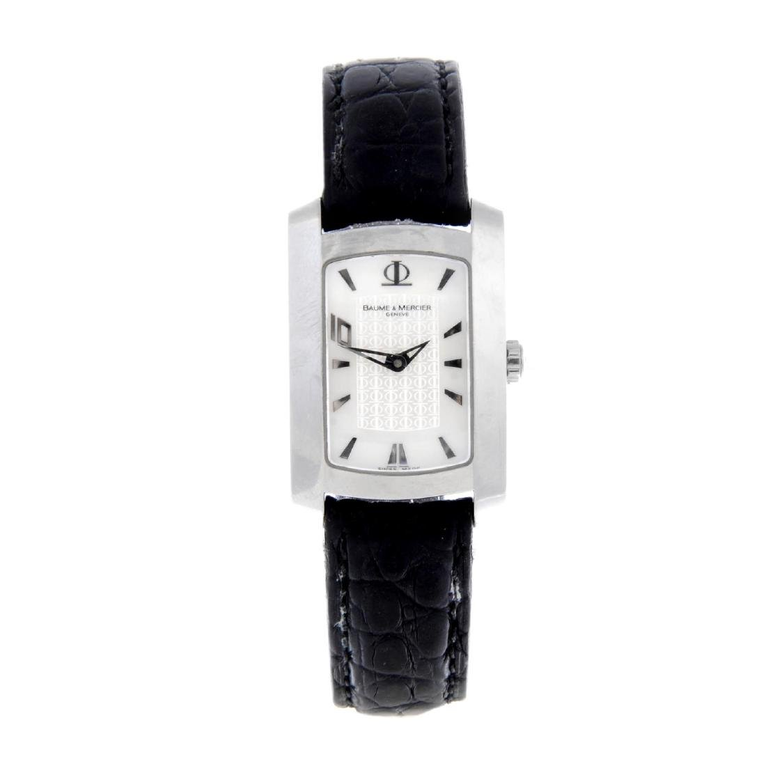 BAUME & MERCIER - a lady's Hampton 10 wrist watch.