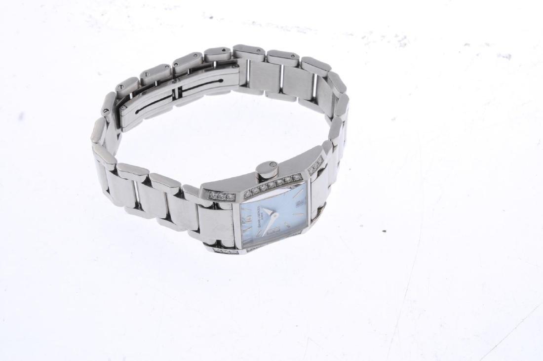 BAUME & MERCIER - a lady's Hampton bracelet watch. - 3