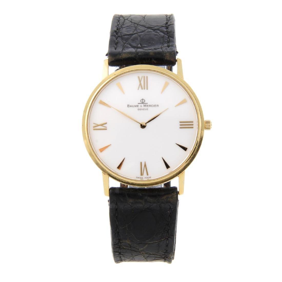 BAUME & MERCIER - a gentleman's Classima wrist watch.