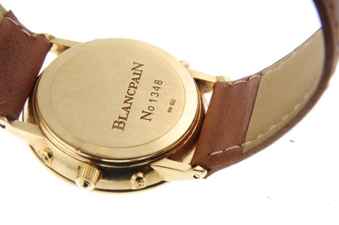 BLANCPAIN - a gentleman's Villeret Moonphase wrist - 3