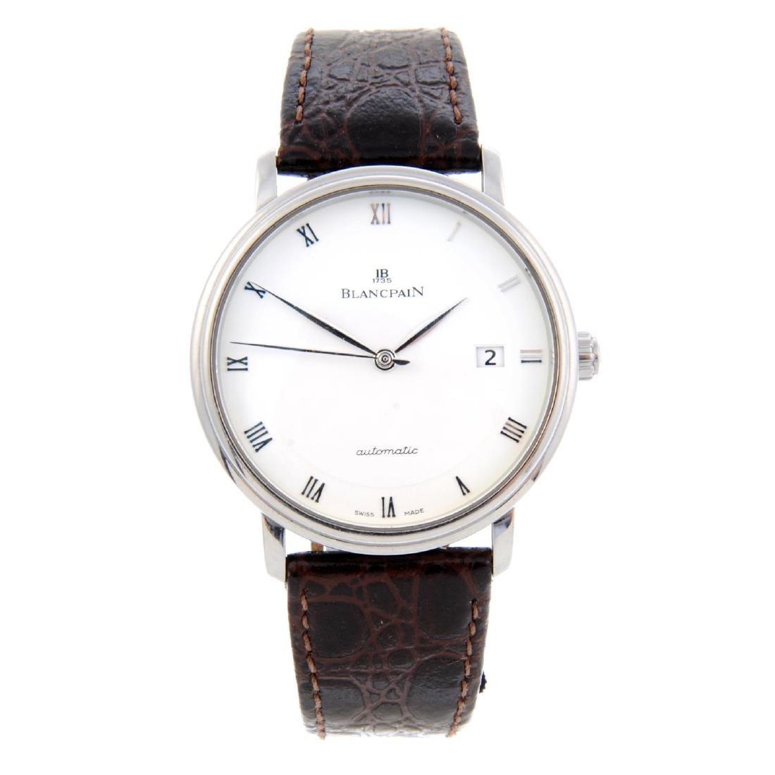 BLANCPAIN - a gentleman's Villeret wrist watch.