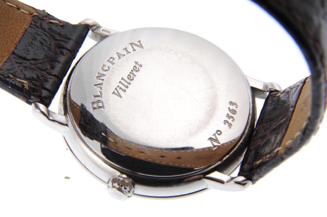BLANCPAIN - a gentleman's Villeret wrist watch. - 3