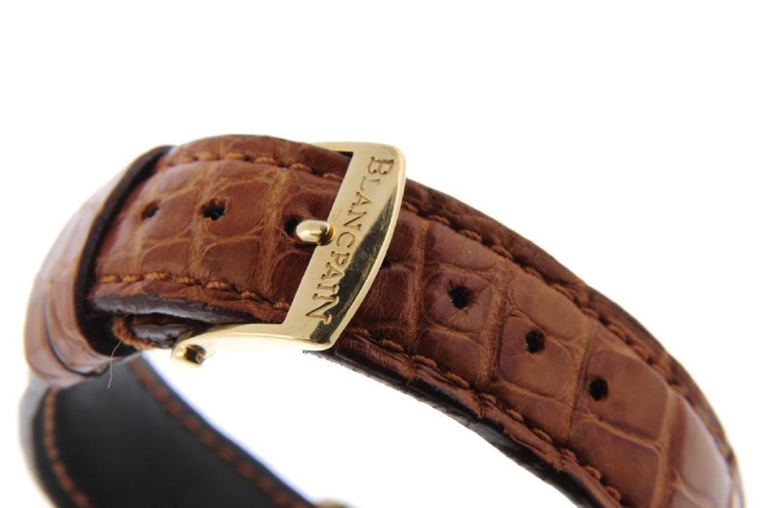 BLANCPAIN - a mid-size Villeret chronograph wrist - 2