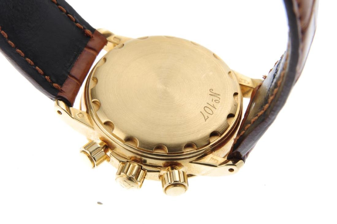 BLANCPAIN - a mid-size Villeret chronograph wrist - 3