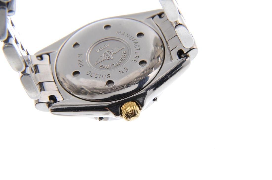 BREITLING - a lady's Callistino bracelet watch. - 3