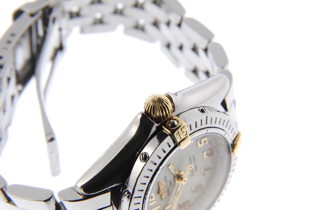 BREITLING - a lady's Callistino bracelet watch. - 4