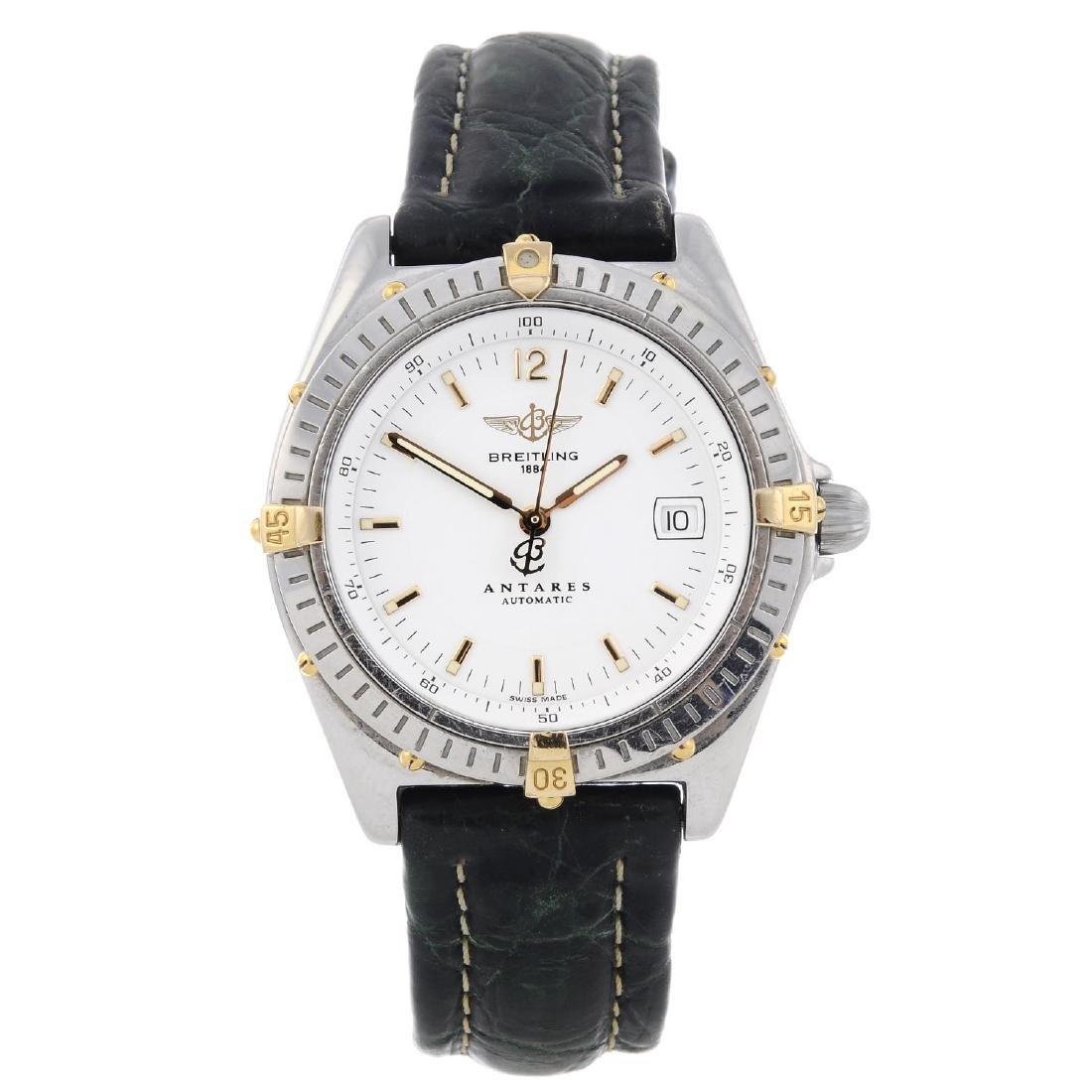 BREITLING - a gentleman's Antares wrist watch.