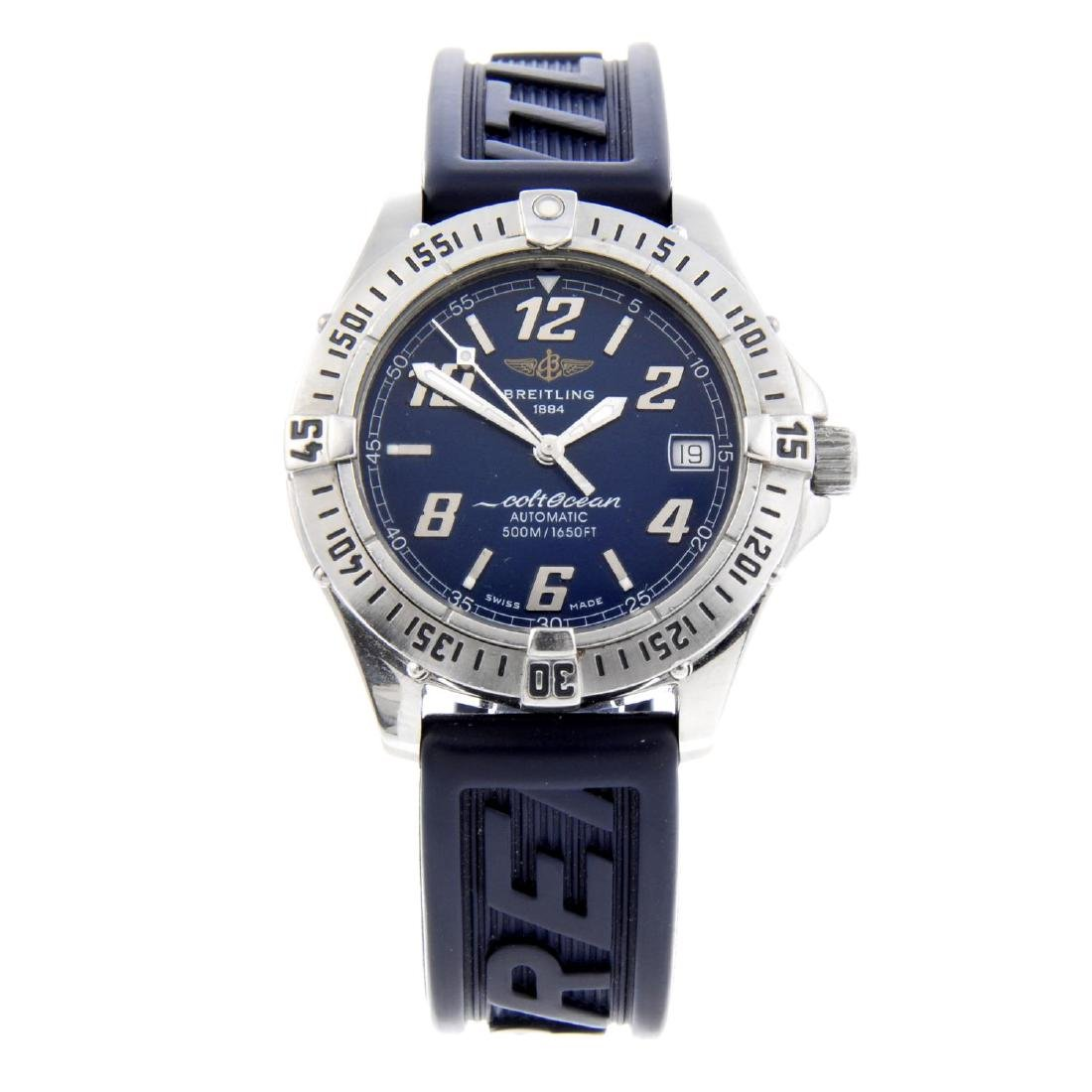 BREITLING - a gentleman's ColtOcean wrist watch.