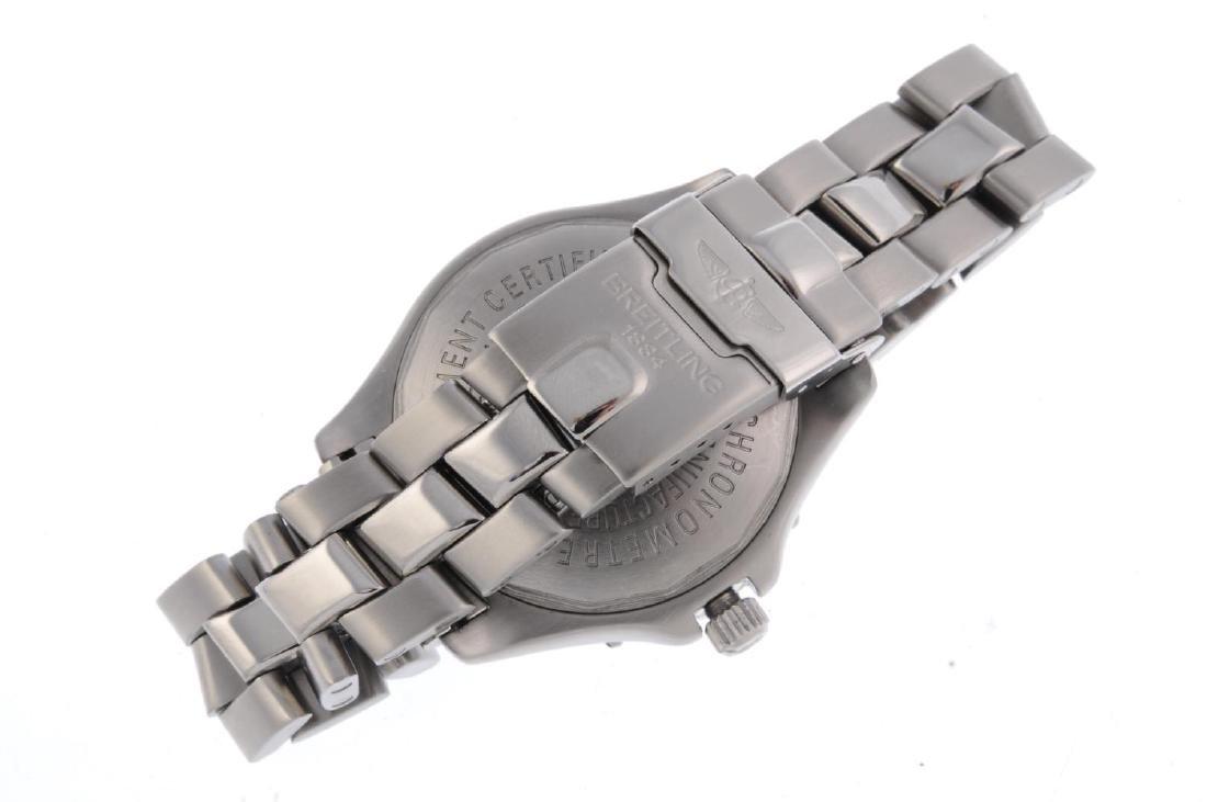 BREITLING - a gentleman's ColtOcean bracelet watch. - 2