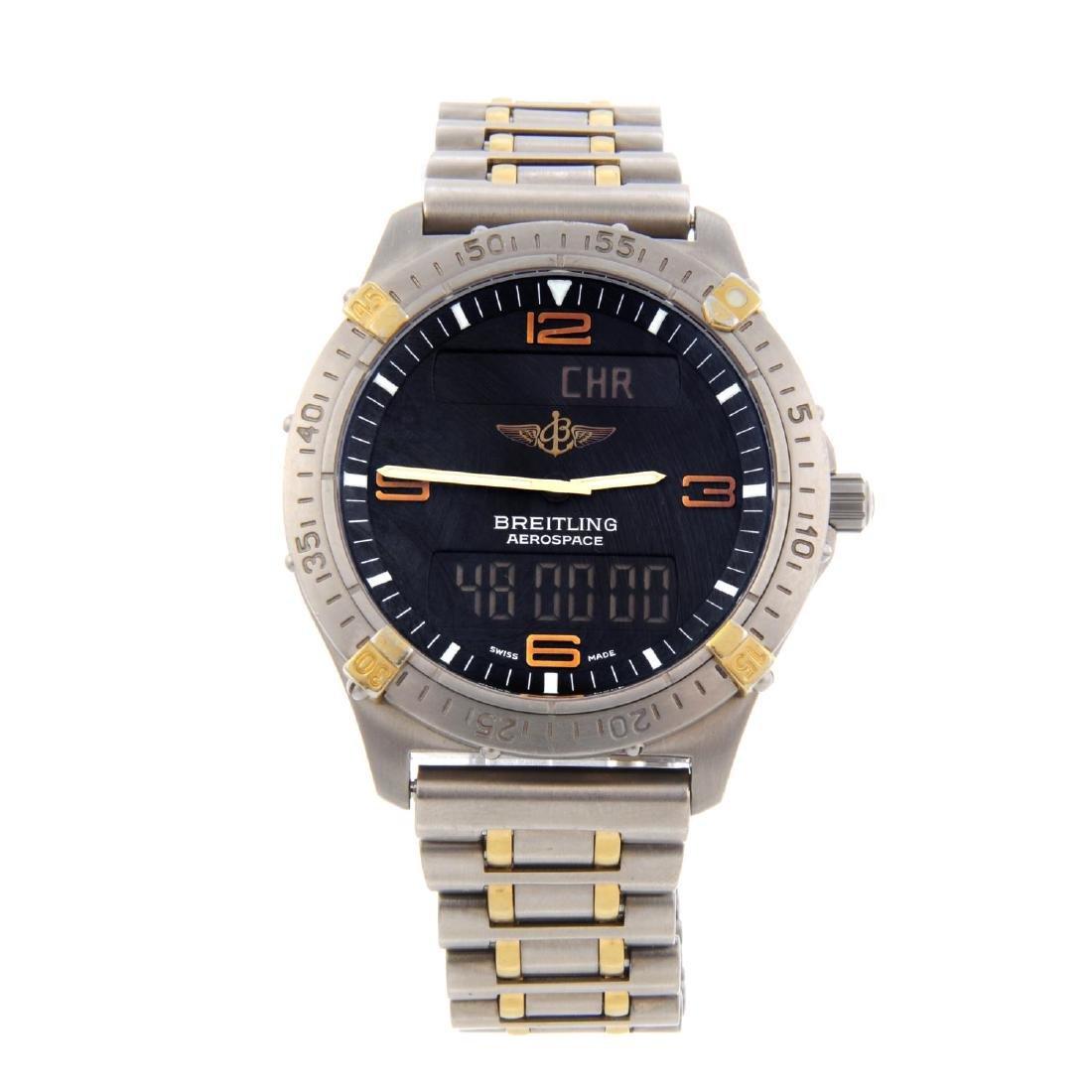 BREITLING - a gentleman's Aerospace chronograph