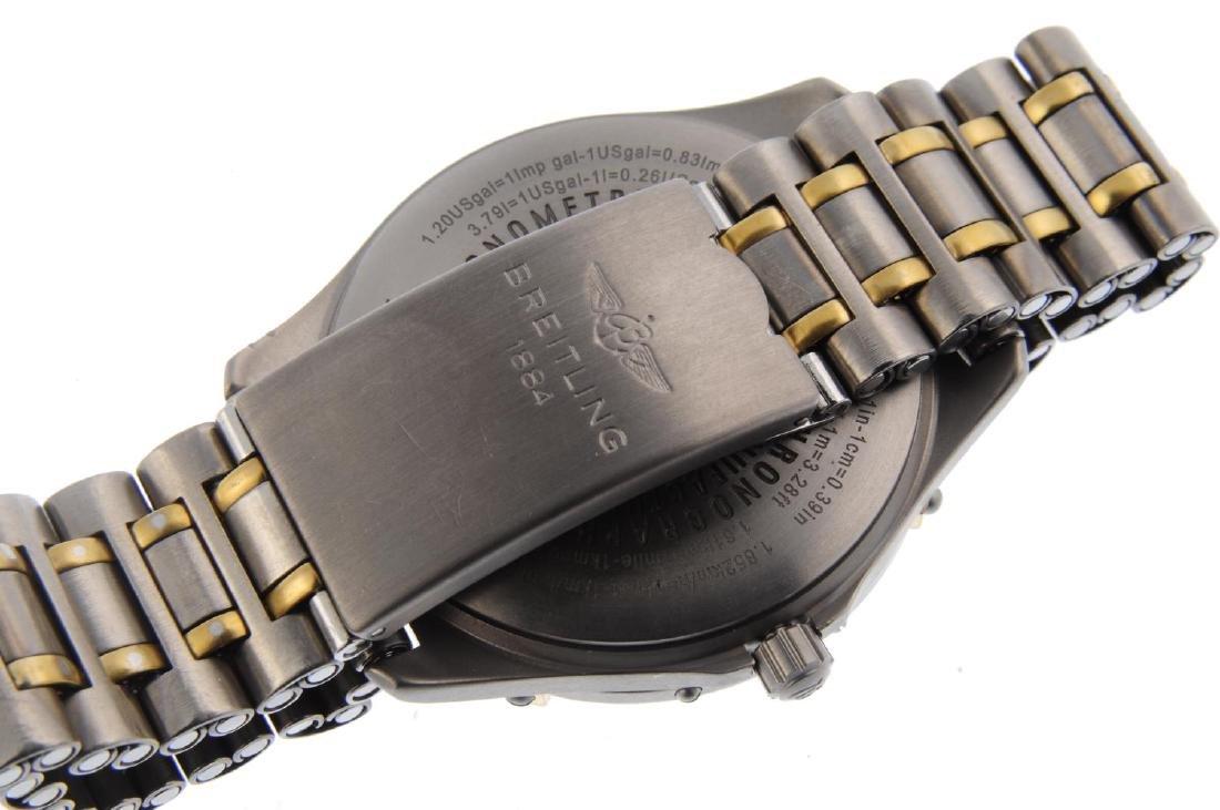 BREITLING - a gentleman's Aerospace chronograph - 4