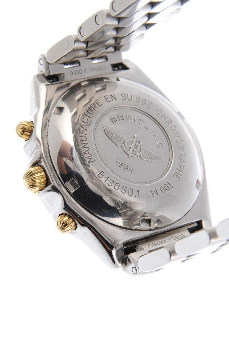 BREITLING - a gentleman's Chronomat chronograph - 3
