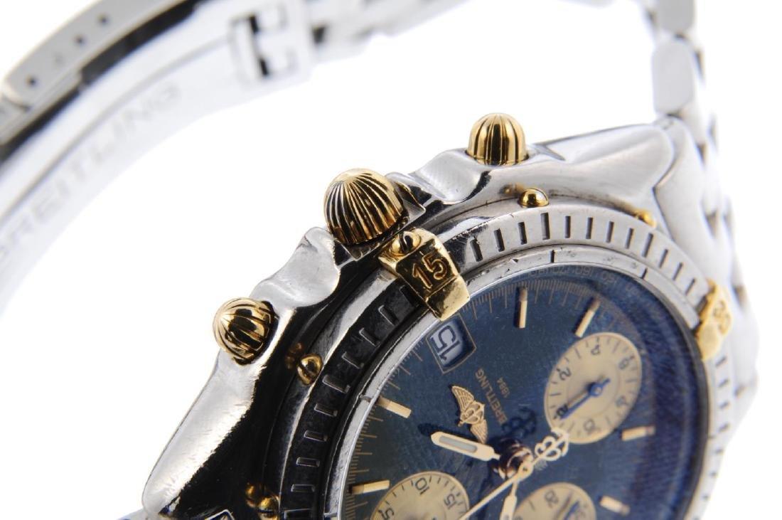 BREITLING - a gentleman's Chronomat chronograph - 4