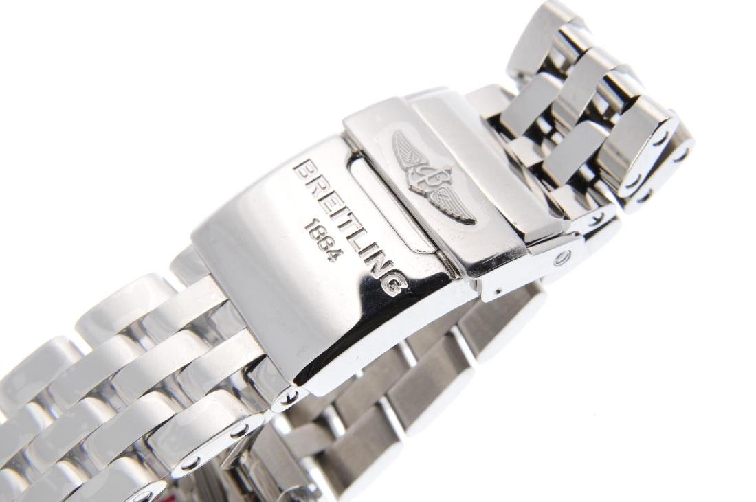 BREITLING - a lady's Galactic bracelet watch. Stainless - 2