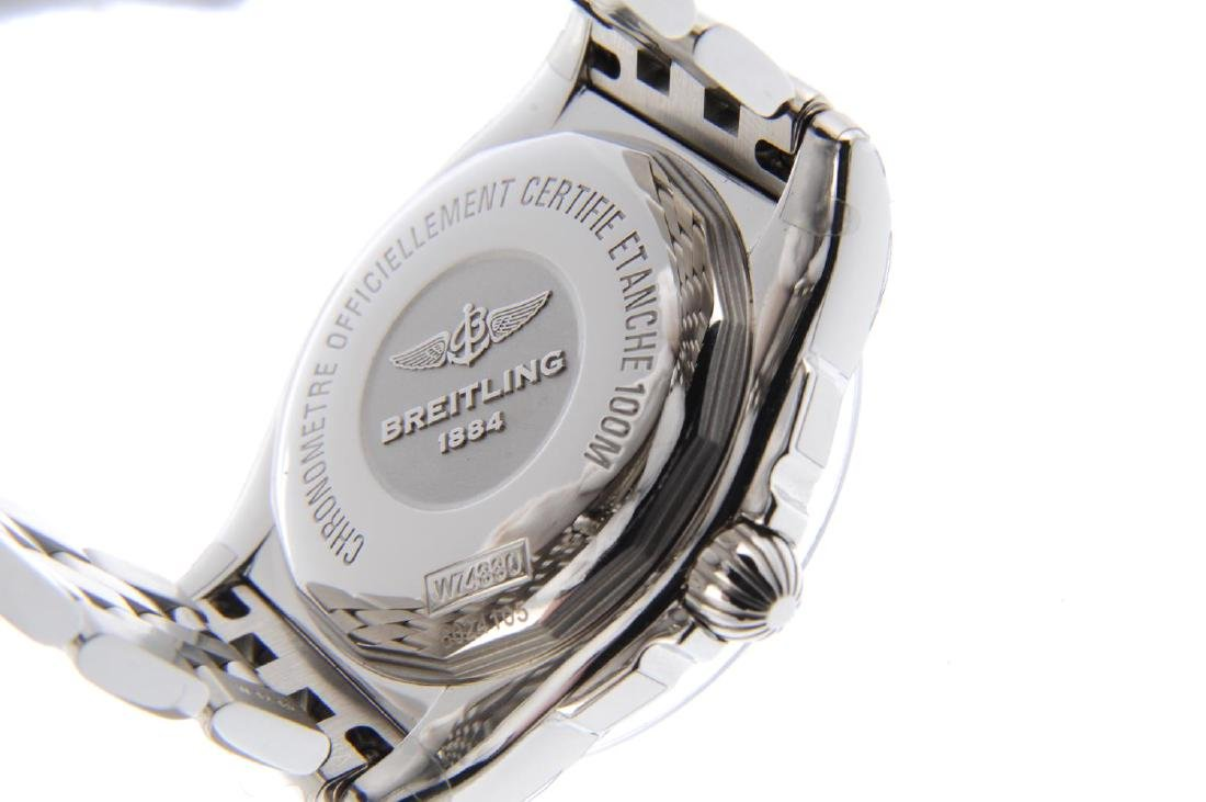 BREITLING - a lady's Galactic bracelet watch. Stainless - 3