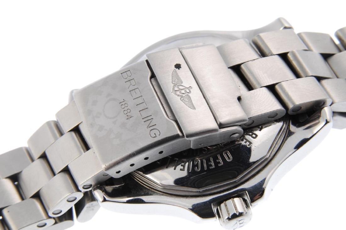 BREITLING - a gentleman's Colt bracelet watch. - 2