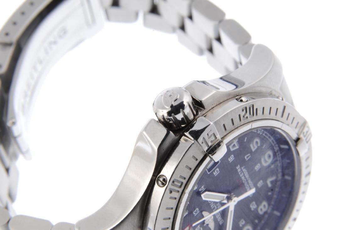 BREITLING - a gentleman's Colt bracelet watch. - 4
