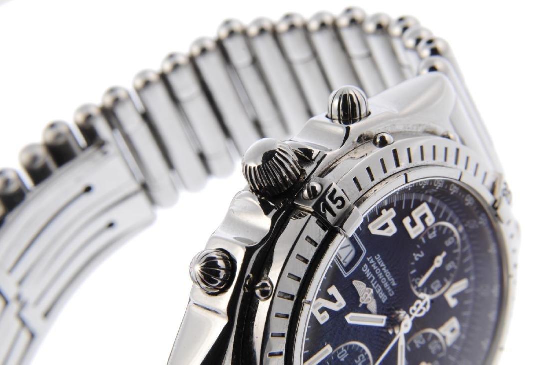 BREITLING - a gentleman's Chronomat Blackbird - 4