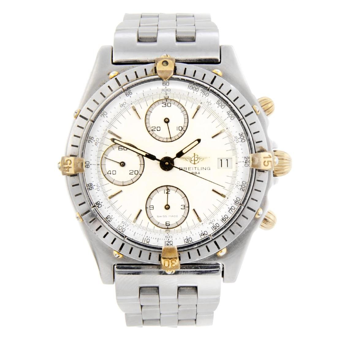 BREITLING - a gentleman's Chronomat chronograph