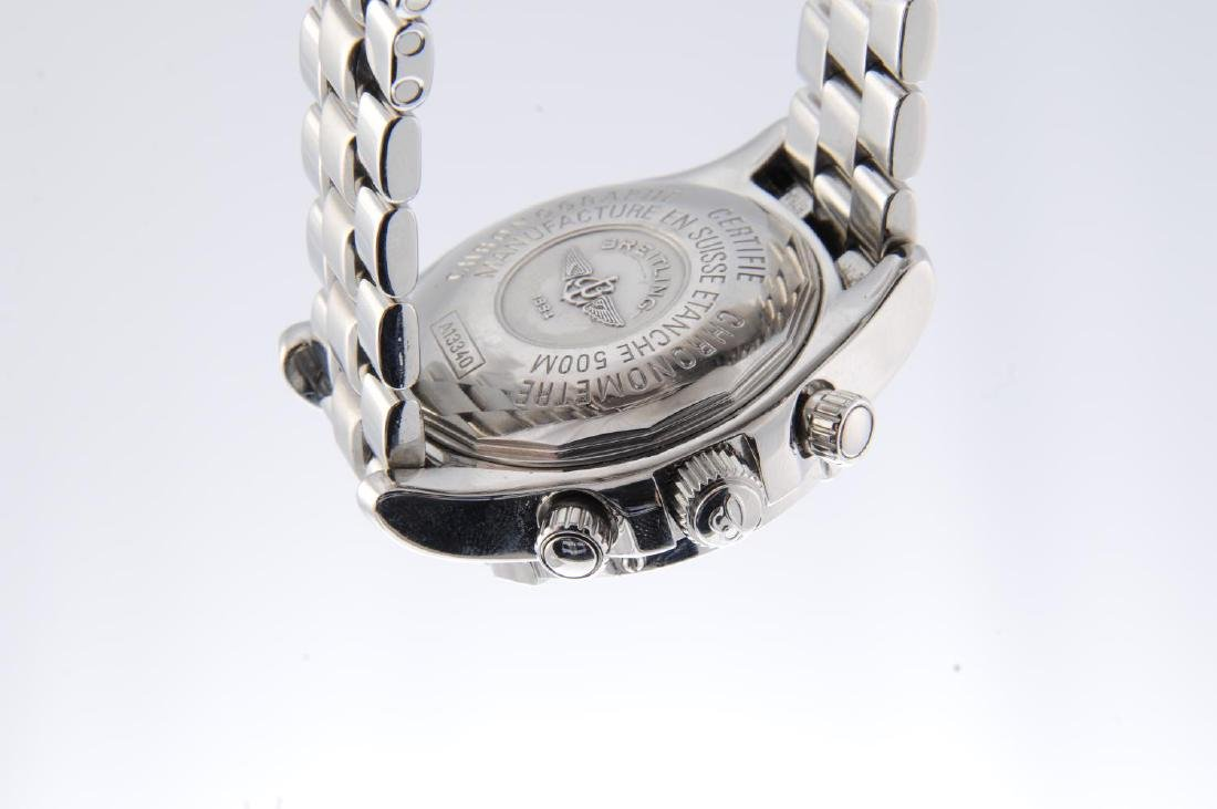 BREITLING - a gentleman's SuperOcean chronograph - 2