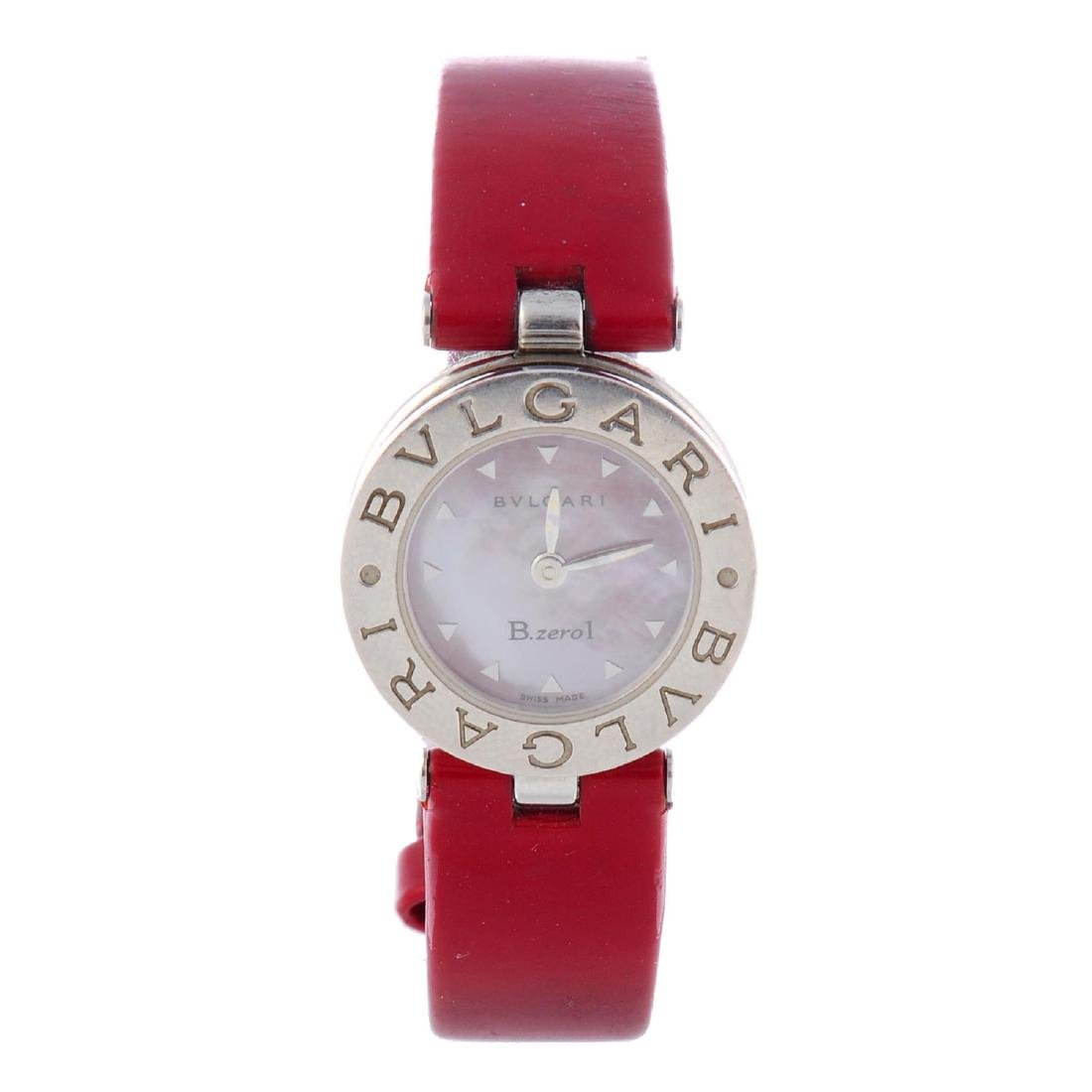 BULGARI - a lady's B.zero1 wrist watch. Stainless steel