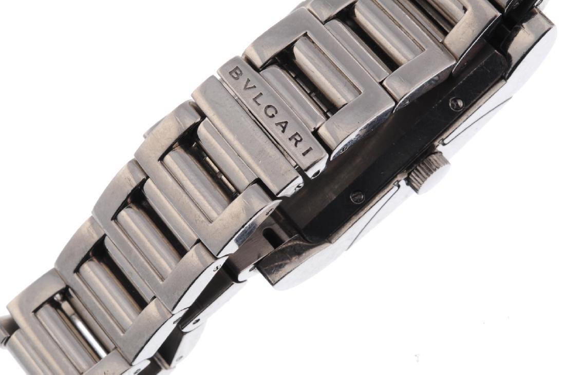 BULGARI - a mid-size Rettangolo bracelet watch. 18ct - 2