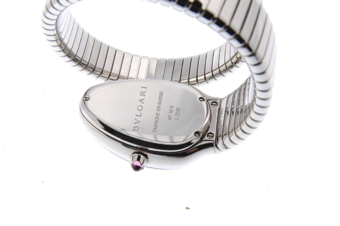 BULGARI - a lady's Serpenti Tubogas bracelet watch. - 3